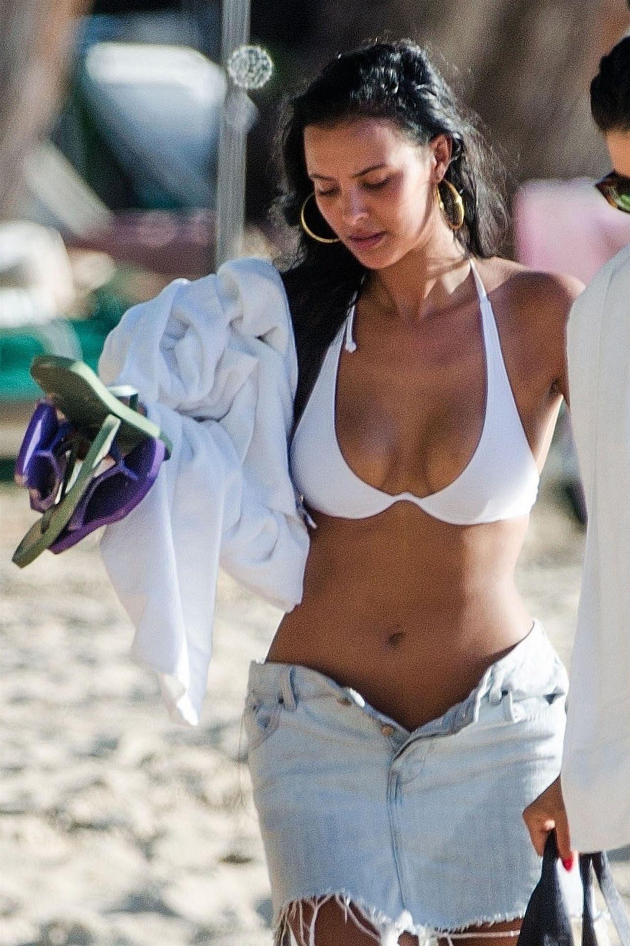 Maya Jama Bikini Beach Barbados