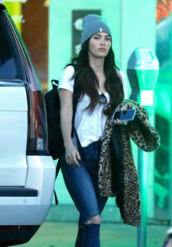 Megan Fox Street Style - Shopping in Beverly Hills 12/13/2018
