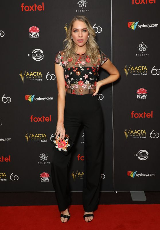 Melina Vidler – 2018 AACTA Awards Industry Luncheon in Sydney