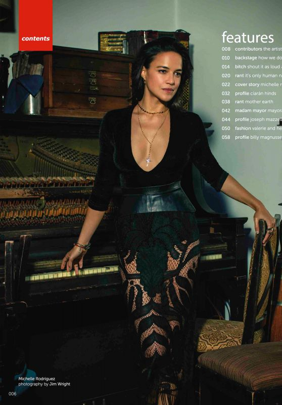 Michelle Rodriguez - Moves Magazine December 2018 Issue