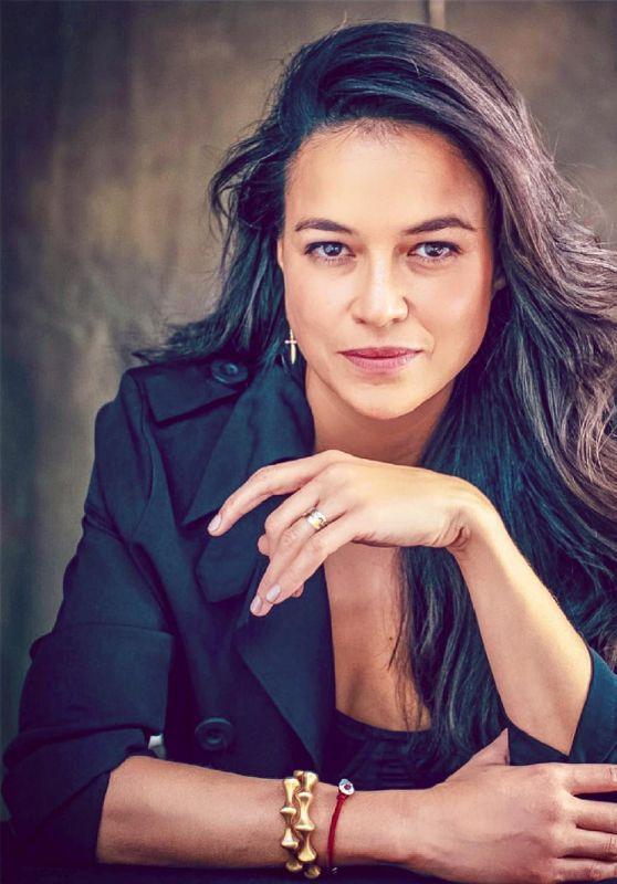 Michelle Rodriguez - Moves Magazine December 2018 Photos