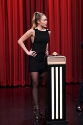 Miley Cyrus Appeared on The Tonight Show Starring Jimmy Fallon 12/13/2018
