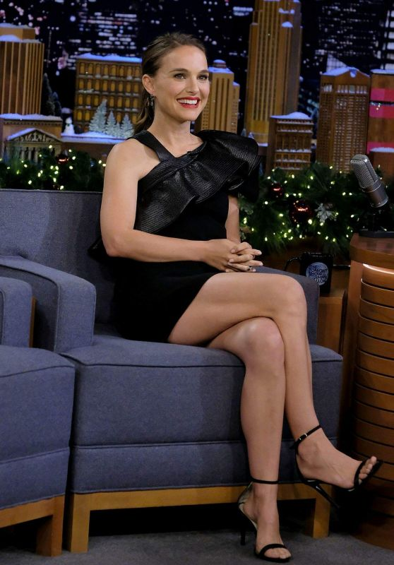 Natalie Portman - Appeared on The Tonight Show Starring Jimmy Fallon in NYC 12/12/2018