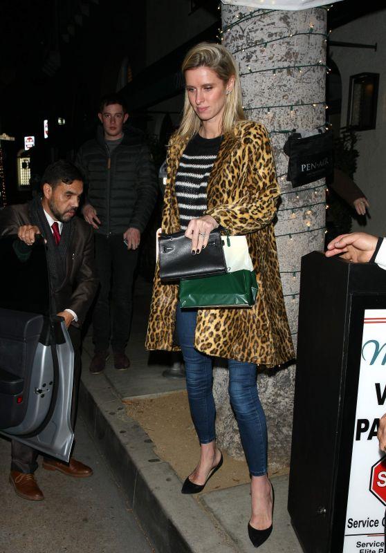 Nicky Hilton Night Out Style 12/26/2018
