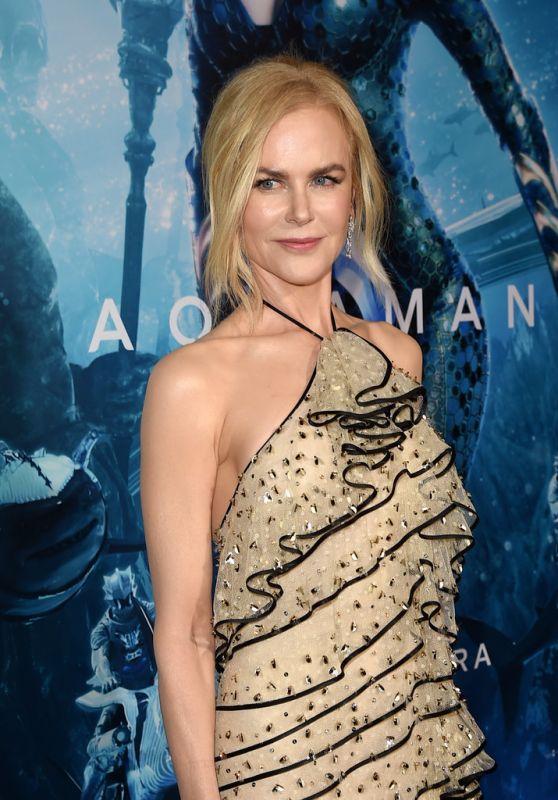 """Nicole Kidman – """"Aquaman"""" Premiere in LA"""