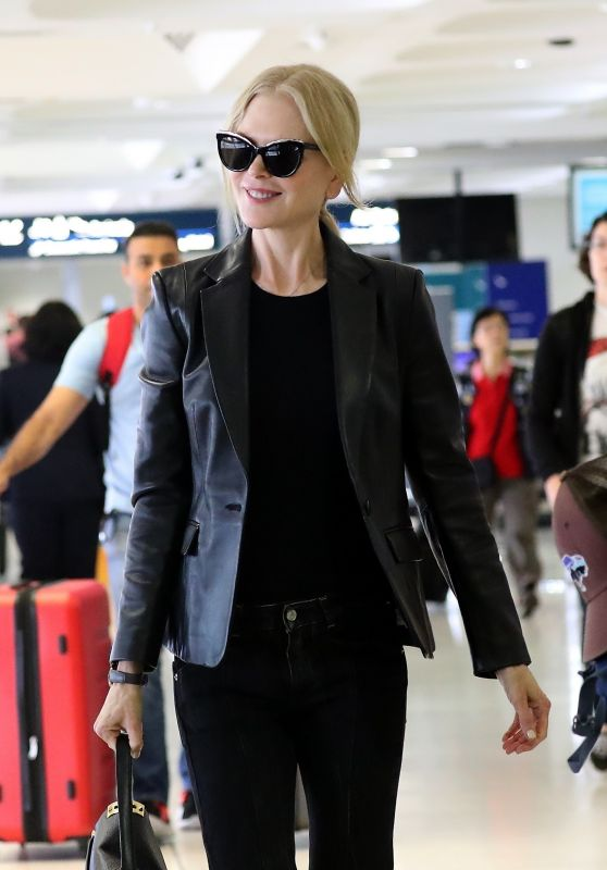 Nicole Kidman in Travel Outfit - Sydney 12/06/2018