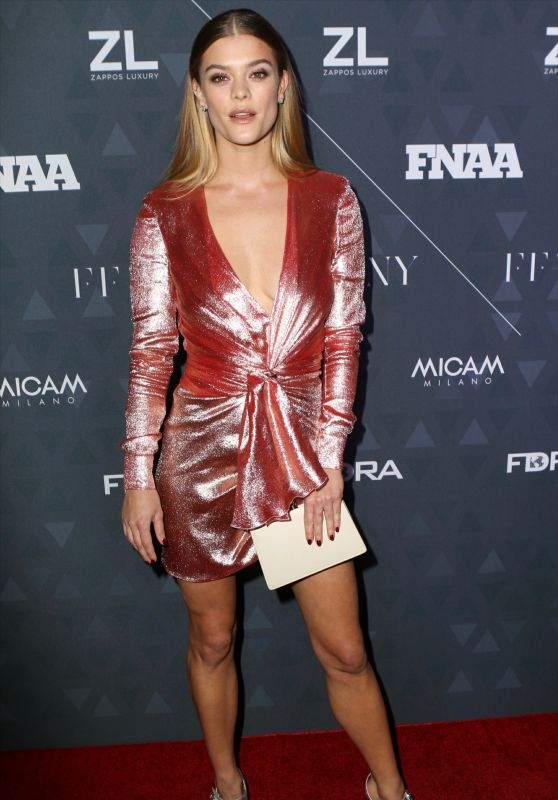 Nina Agdal – Footwear News Achievement Awards 2018
