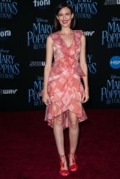 """Odette Annable – """"Mary Poppins Returns"""" Premiere in LA"""