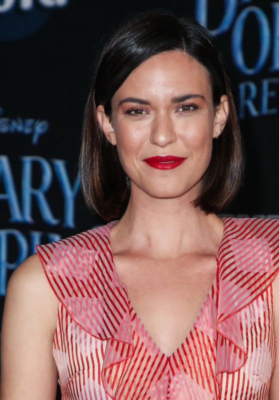 "Odette Annable – ""Mary Poppins Returns"" Premiere in LA"