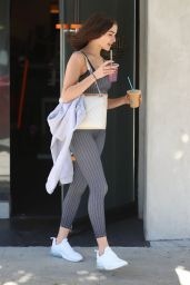 Olivia Culpo in Workout Gear - Leaving a Gym in West Hollywood 12/04/2018