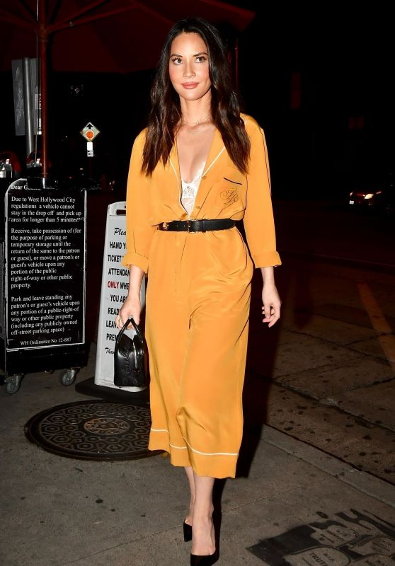 Olivia Munn Night Out Style, December 2018
