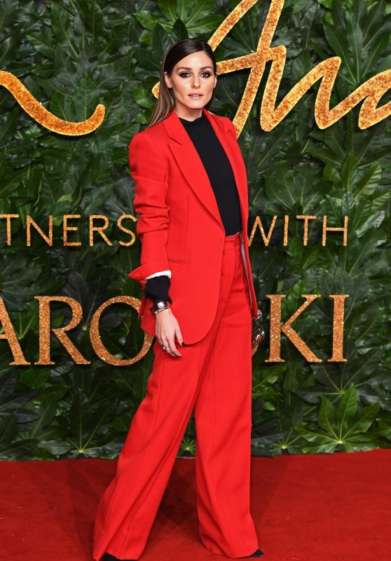 Olivia Palermo – The Fashion Awards 2018 in London