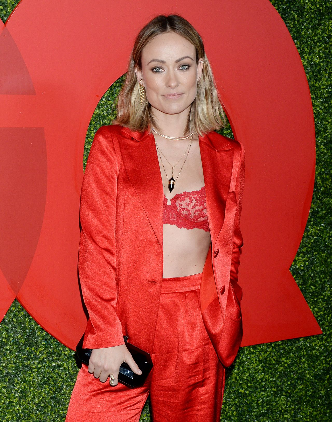 OLIVIA WILDE at GQ Men of the Year Party in Beverly Hills