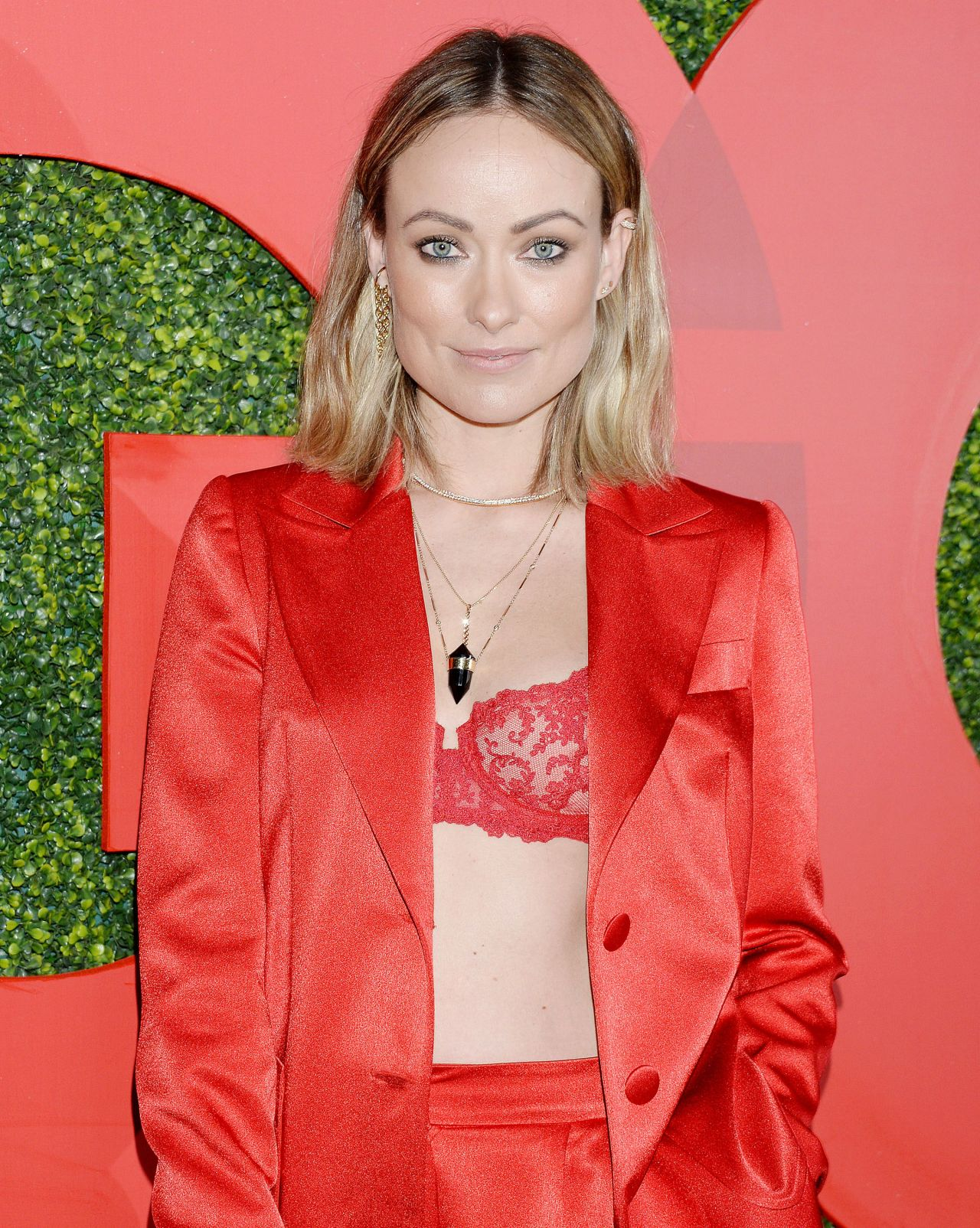 Olivia Wilde 2018 Gq Men Of The Year Party In La