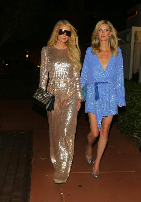 Paris Hilton and Nicky Hilton - Out in Miami 12/11/2018