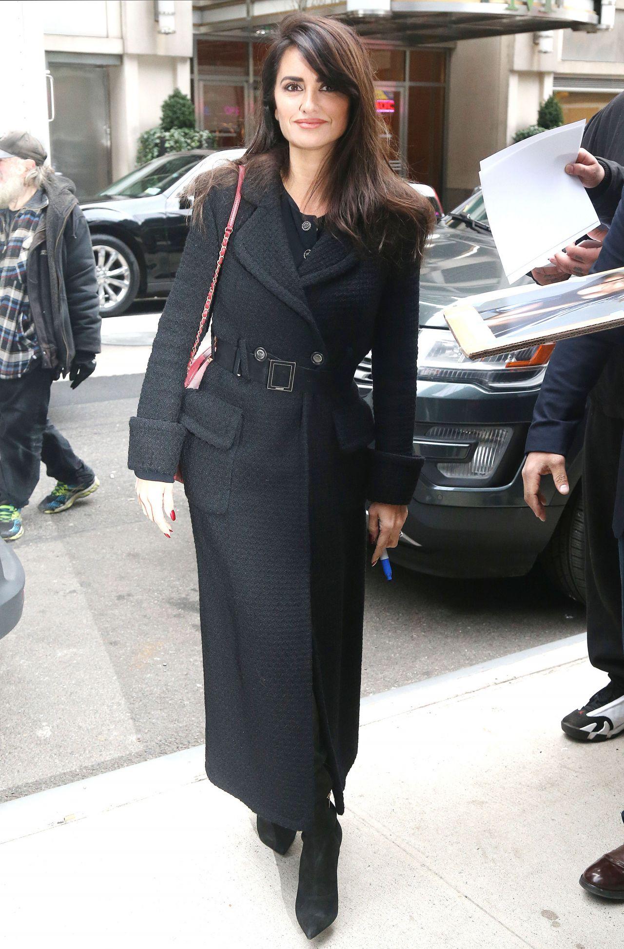 Penelope Cruz Style – New York 12/05/2018