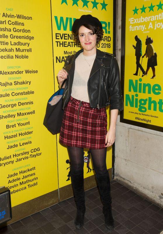 "Phoebe Waller-Bridge – ""Nine Night"" Opening Night in London 12/06/2018"