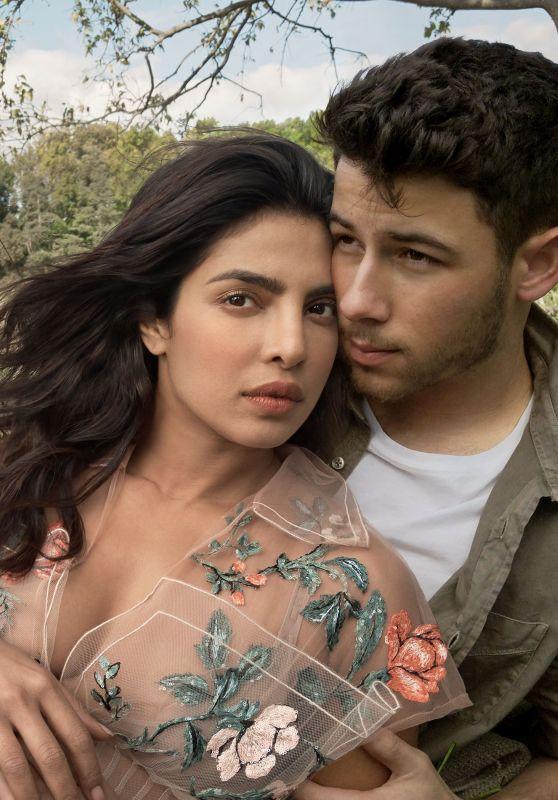 Priyanka Chopra and Nick Jonas - Vogue US  January 2019 Photos
