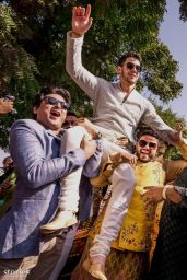 Priyanka Chopra and Nick Jonas - Wedding Pictures 12/01/2018