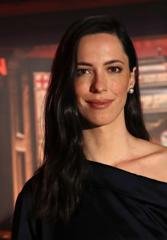 """Rebecca Hall - """"Holmes & Watson"""" Photocall in West Hollywood 12/14/2018"""