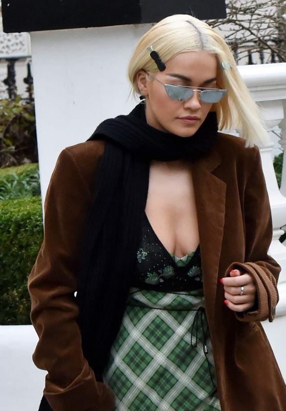 Rita Ora - Out in London 12/10/2018