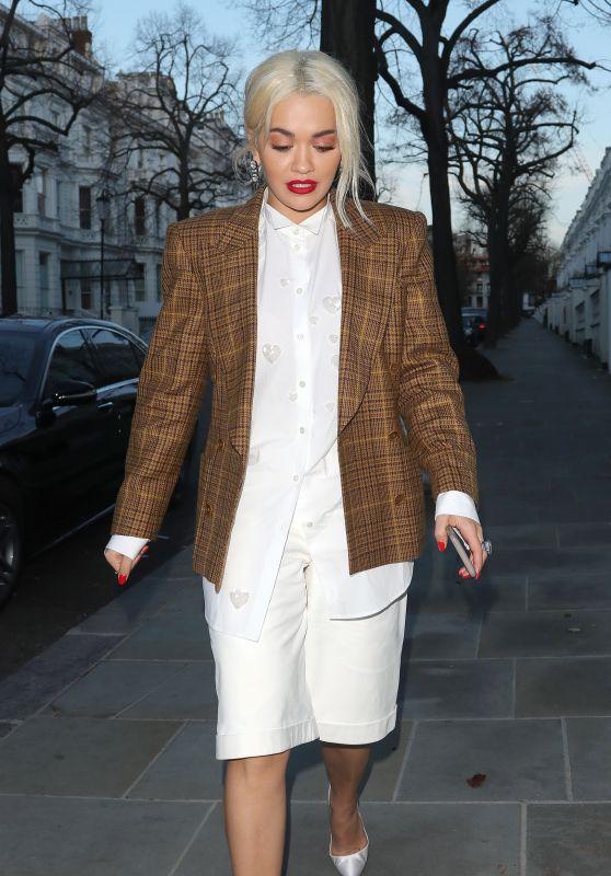 Rita Ora - Out in London 12/12/2018
