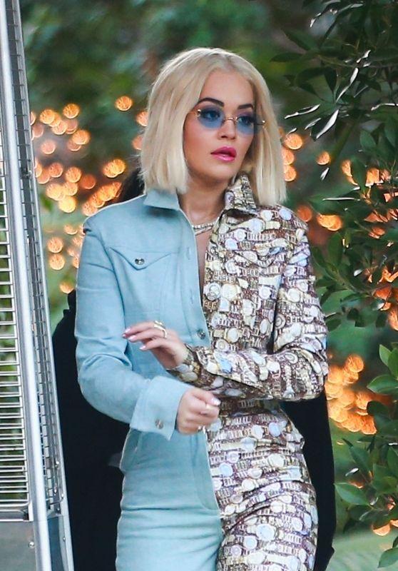 Rita Ora Style - The Abbey Club in West Hollywood 12/04/2018