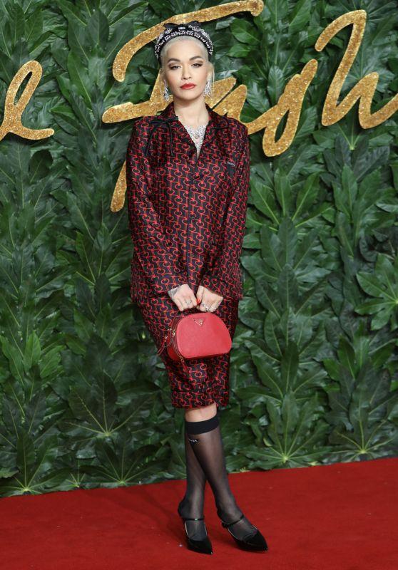 Rita Ora – The Fashion Awards 2018 in London