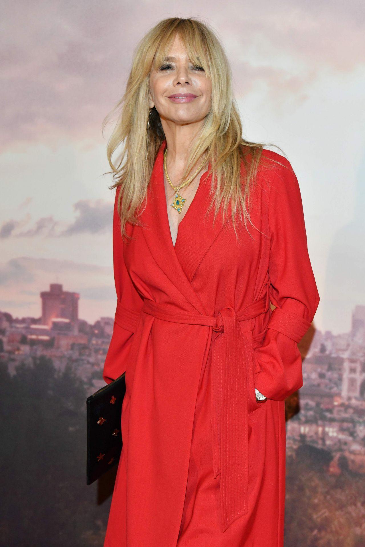 Rosanna Arquette Holy Lands Premiere Paris