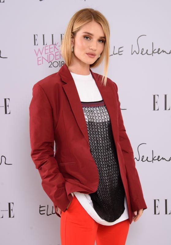 Rosie Huntington-Whiteley - ELLE Weekender in London 12/02/2018
