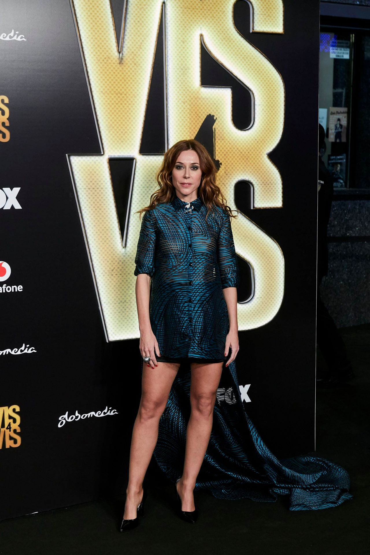 ruth diaz vis a vis season 4 premiere in madrid. Black Bedroom Furniture Sets. Home Design Ideas