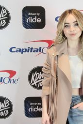 Sabrina Carpenter - iHeart Radio Jingle Ball in Saint Paul 12/03/2018