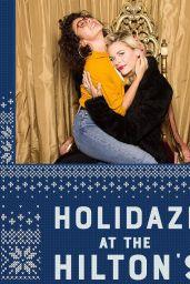 Sarah Hyland and Jaime King - Holidaze at the Hilton