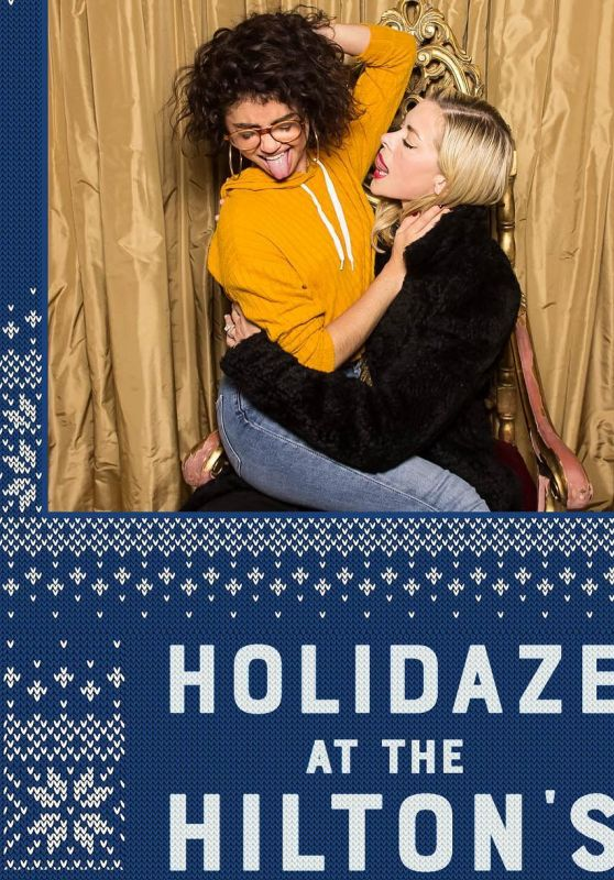 Sarah Hyland and Jaime King - Holidaze at the Hilton