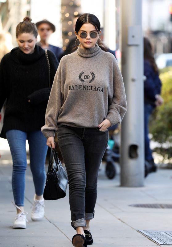 Selena Gomez Street Style 12/29/2018
