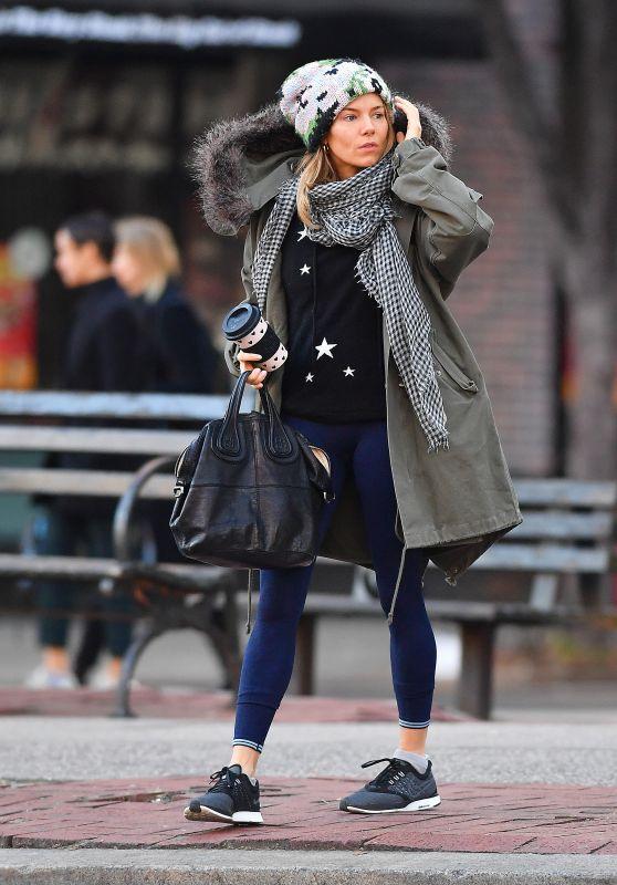 Sienna Miller Street Style 12/11/2018