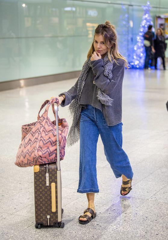 Sienna Miller Travel Style 12/27/2018