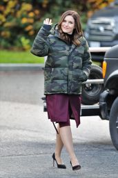 "Sophia Bush - ""Surveillance"" TV Show Set in Vancouver 11/30/2018"