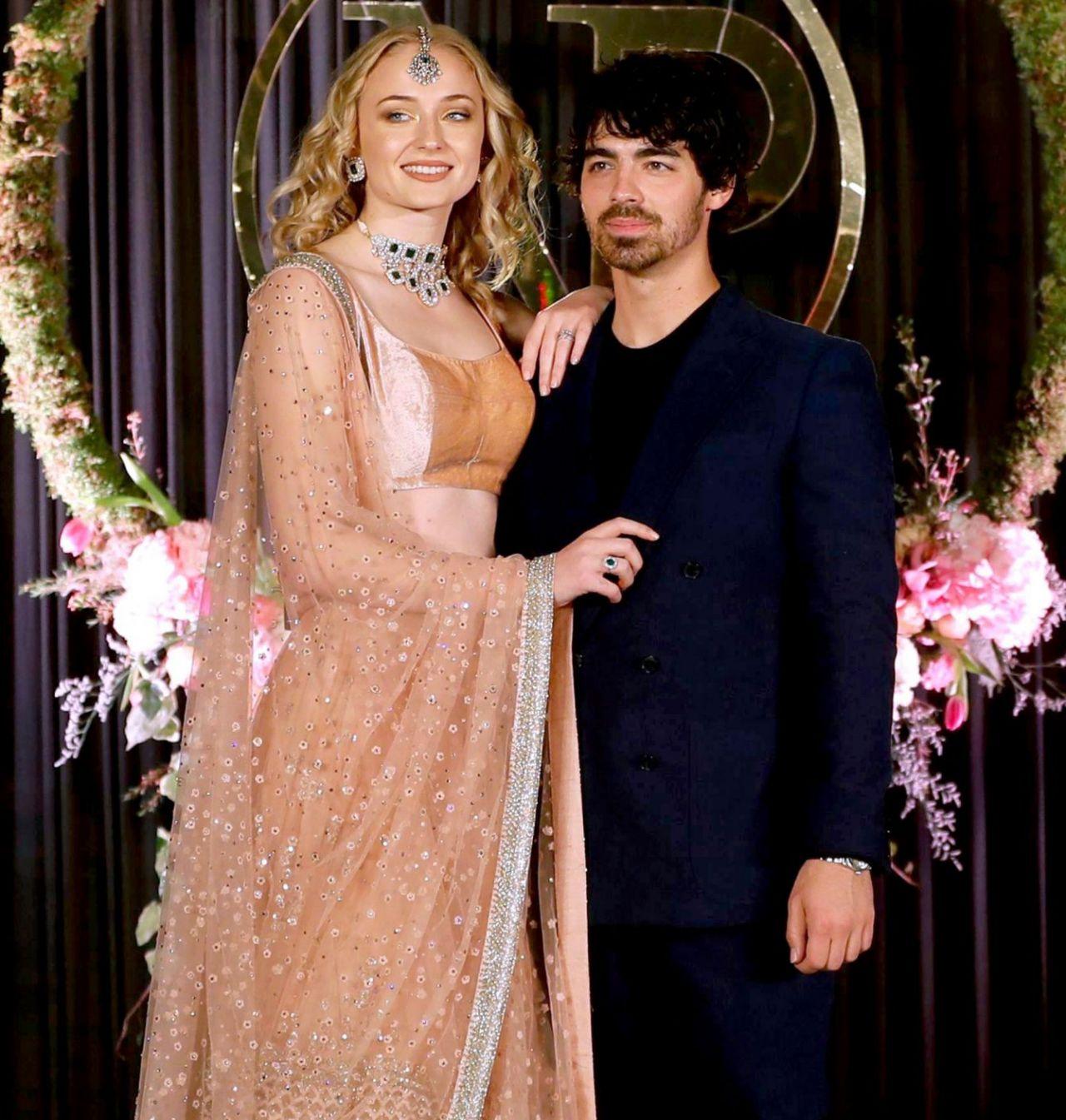 Joe Jonas Wedding: Sophie Turner And Joe Jonas At Wedding Reception In India