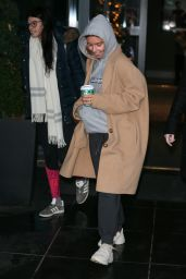 Stacey Dooley - Strictly Come Dancing Celebrities and Dancers Leaving Their Hotel, London 12/01/2018