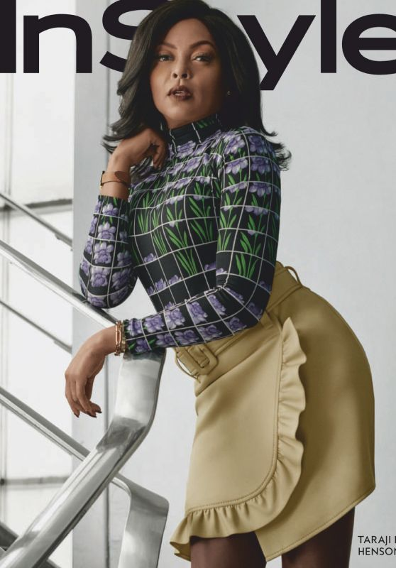 Taraji P. Henson - InStyle Magazine January 2019 Issue
