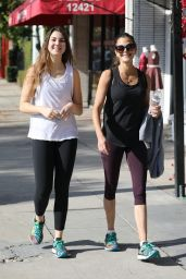 Teri Hatcher and Her Daughter After a Weekend Workout in LA 12/22/2018
