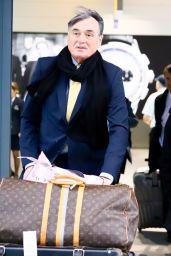 Thandie Newton Travel Style - Heathrow Airport 11/29/2018