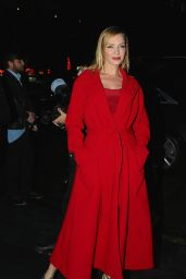 Uma Thurman - Versace Pre-Fall 2019 fashion show in NYC