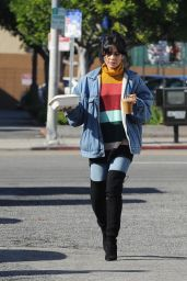 Vanessa Hudgens at Blue Bottle Coffee in LA 12/03/2018