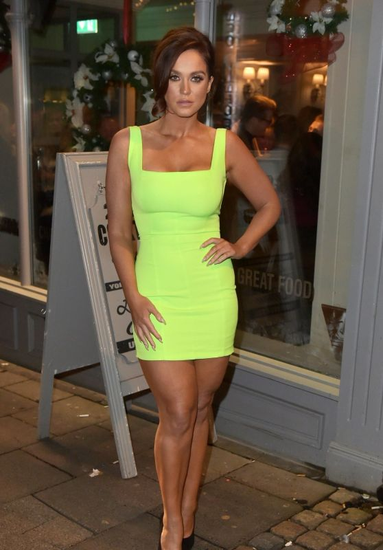 Vicky Pattison Night Out Style - Newcastle 12/22/2018