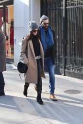 Abigail Spencer With Her New Boyfriend - Paris 01/21/2019
