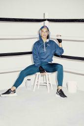 Adriana Lima - Boxes in Puma Campaign, January 2019