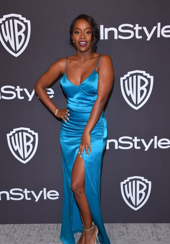 Aja Naomi King – InStyle and Warner Bros Golden Globe 2019 After Party