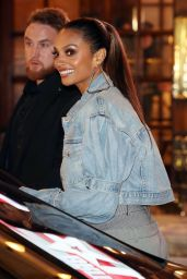 Alesha Dixon - Leaves the First Britain